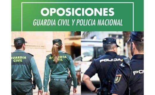 OPOSICIONES GUARDIA CIVIL Y POLICÍA NACIONAL